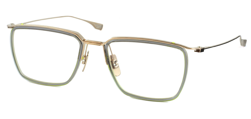 DITA ディータ SCHEMA ONE DTX-106-53 col.GLD-GRY